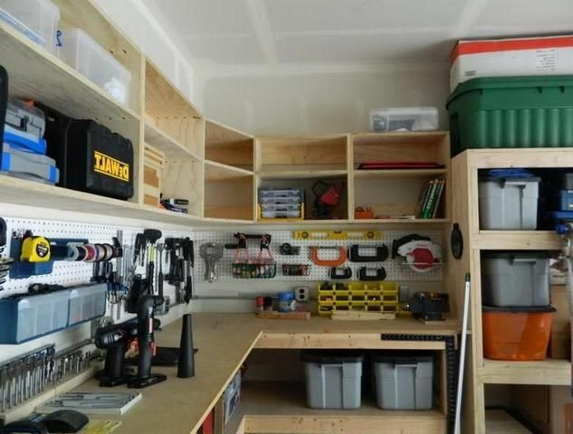 simple diy garage cabinets