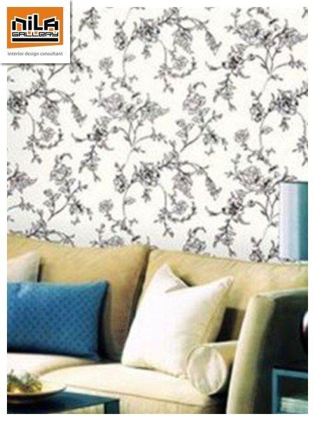 Wallpaper Dinding Mengubah Suasana Lebih Bervariasi