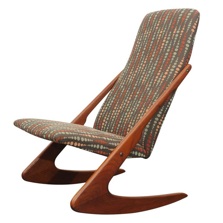 Teak Adrian Pearsall Rocking Chair | From a unique collection of antique and modern rocking chairs at http://www.1stdibs.com/furniture/seating/rocking-chairs/