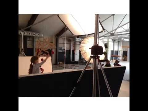 Shooting new Autumn Winter 2014 Collection