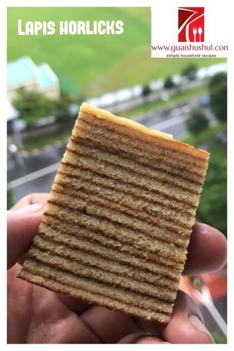 Lapis Horlicks aka Horlicks Layered Cake(好立克千层蛋糕)