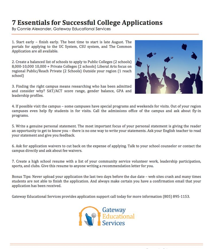 Gateway Educational Services (gatewaysb) on Pinterest - community service letter