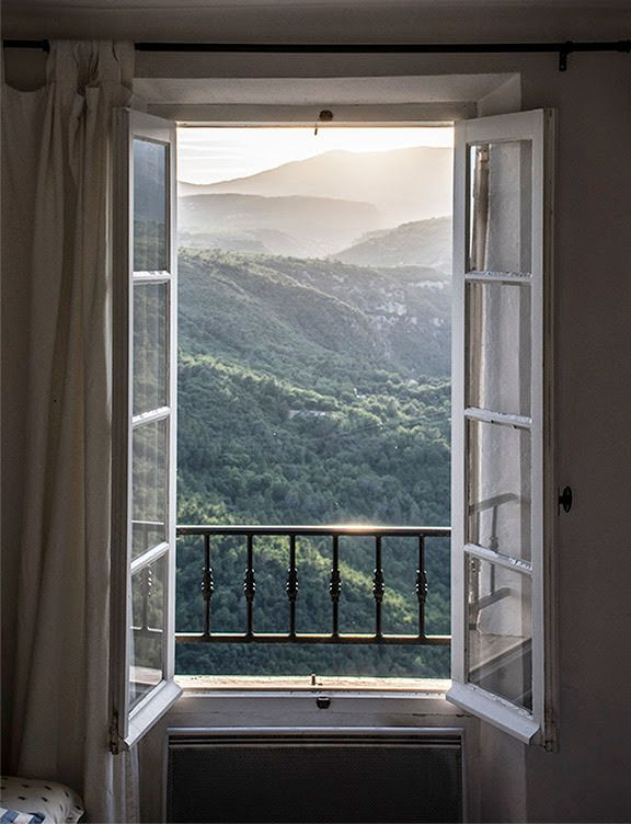 Southern French Alps As Seen From An Open Window Window Photography Windows Open Window