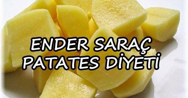 Patates diyeti yapanlar haftada 5 kilo verdi. Siz de bu diyet listesi ile zayıflayın.