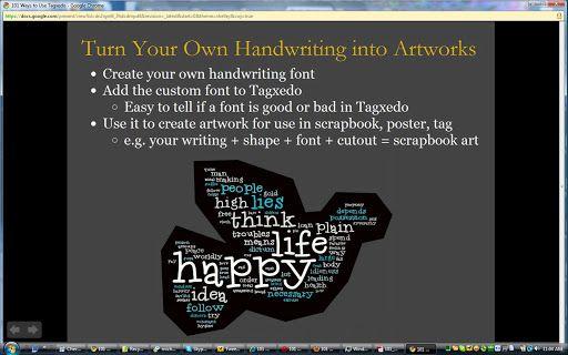 101 Ways to Use Tagxedo - Tagxedo Blog
