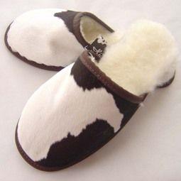 Designer Calfskin slippers