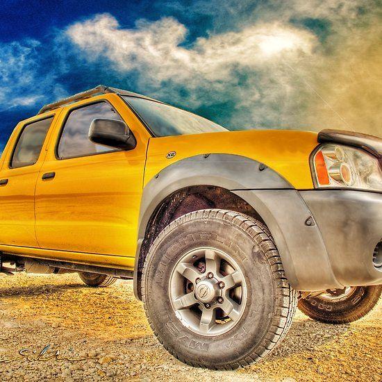 Goodbye Yellow Dog Nissan Navara Pickup in the Sky