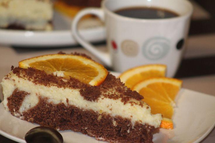 Апельсиновая фантазия с ароматом лимона))))))