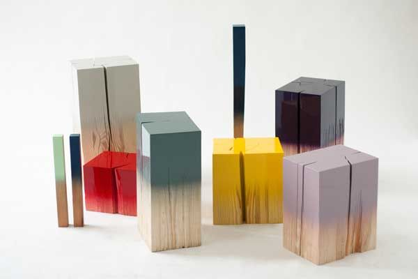 Wooden Dip Dye Blocks by Judith Seng - WhatWeDo Copenhagen