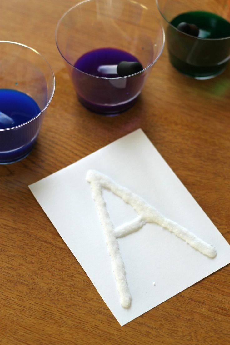 Salt Painting Science Experiment Science Experiments Kids Preschool Science Experiments Kids Preschool Science Activities