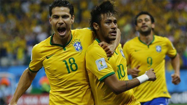 Brasil ganó un partido lleno de polémica . June 12, 2014.