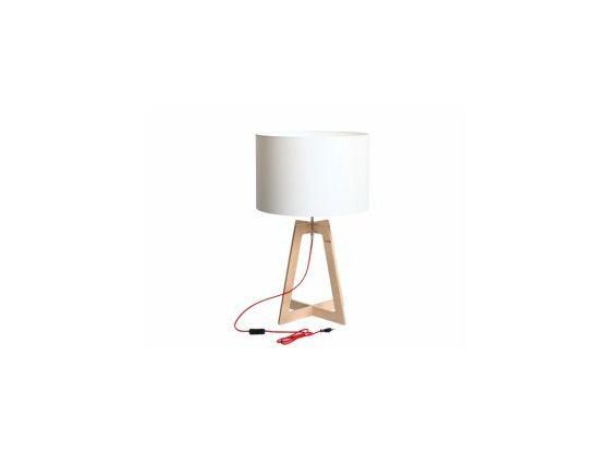 Lampa stołowa - CustomForm - Liam M biały