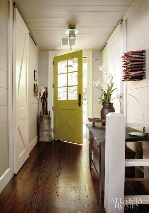 jeff jones design atlanta homes u0026 lifestyles what a beautiful entrance love the barn doors and yellow door
