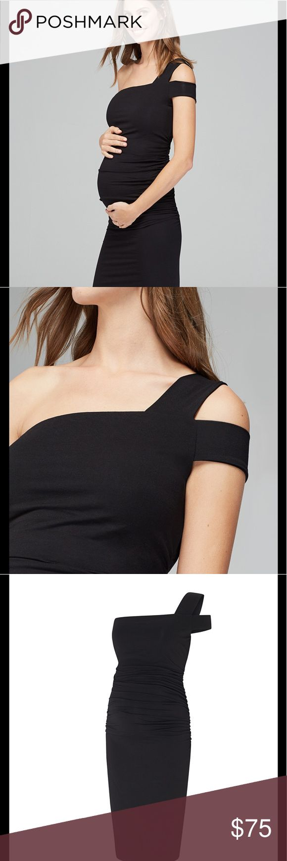 🤰Isabella Oliver black Brunswick Maternity Dress Effortless and chic, the Brunswick Maternity Dress is the perfect piece to see you through pregnancy. The graphic shoulder cut-out detail adds extra 'wow' factor to this classic LBD design. Date night? Done. This dress is still available full price. Grab a deal! IO size 3 which is about an 8 or medium.  Worn once.   Cut out shoulder detailing Ruching at the sides to ensure a flattering fit Crafted in soft premium jersey One shoulder design…