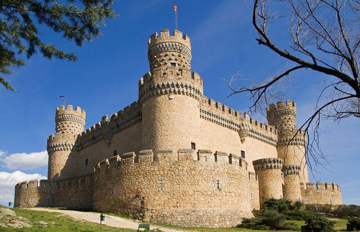New Castle of Manzanares el Real, Community of Madrid