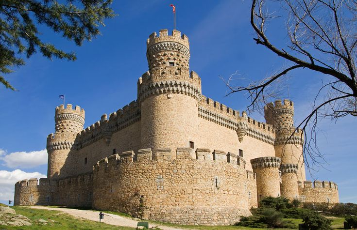 New Castle of Manzanares el Real, Community of Madrid