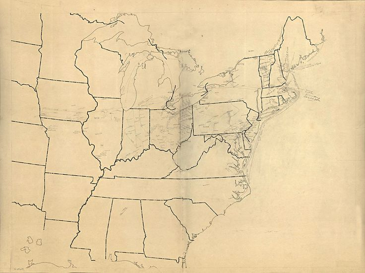 Line Art Usa Map : Best antique maps images old