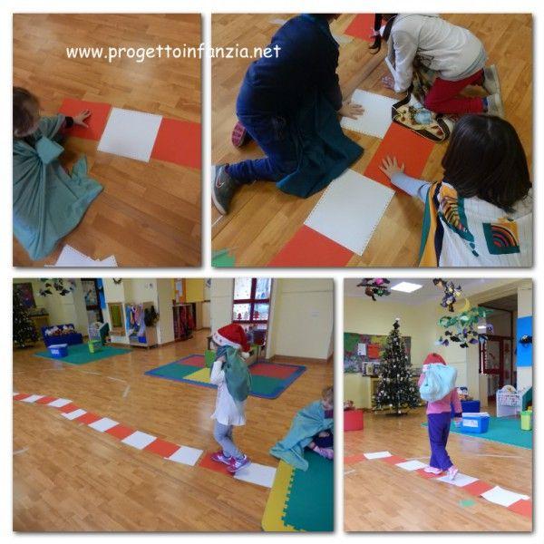 matematica di Natale: ritmi di colore per la strada di babbo Natale