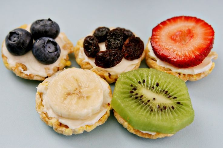 Olympic Rings Healthy Snack Recipe