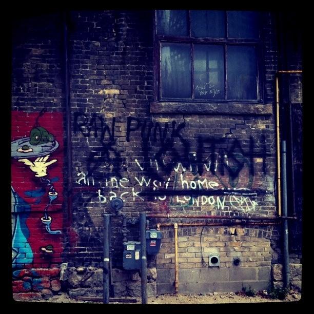 written on the wall