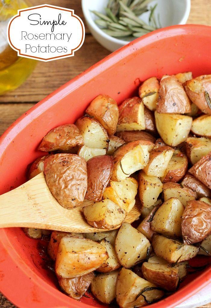 Crispy & Tender Rosemary Red Potatoes - http://penneylanekitchen.com/crispy-tender-rosemary-red-potatoes/