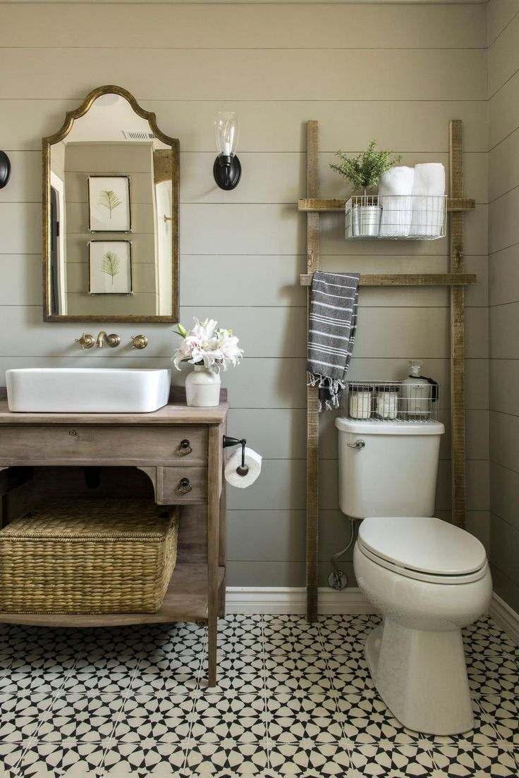 Country bathroom designs - 20 Trendy Bathroom Color Palettes