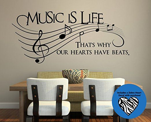 My little #band #member will love to have this in #her #room #kids #music #beautiful #inspirational #motivational #motivation #inspiration #amazon #affiliate #vcmblog #wall #cling #happy #improvement #kind #beauty