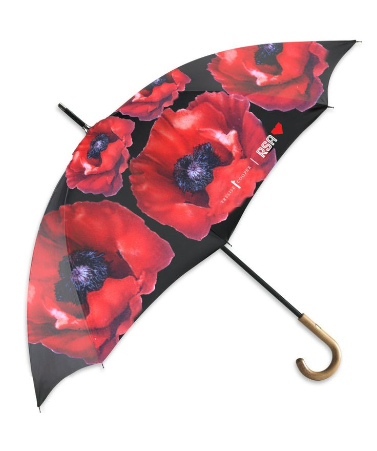 Would be proud to carry this one: RSA Poppy Umbrella @TreliseCooper
