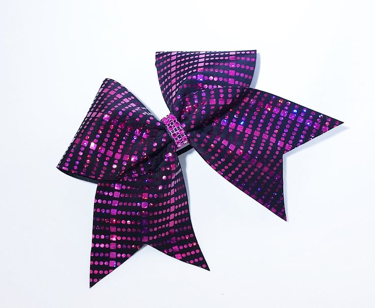 Cheer bow, black cheer bow, Pink cheer bow, sequin cheer bow, cheerleader bow, cheerleading bow, cheerbow, softball bow, pop warner cheer by MadeForMeCheerBows on Etsy https://www.etsy.com/listing/259446921/cheer-bow-black-cheer-bow-pink-cheer-bow
