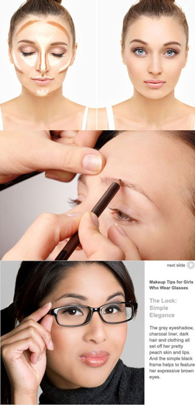 Makeup Tips For Glasses - Makeup Tips For Girls With Glasses