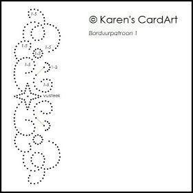 Karen's CardArt: Nieuw borduurpatroon!