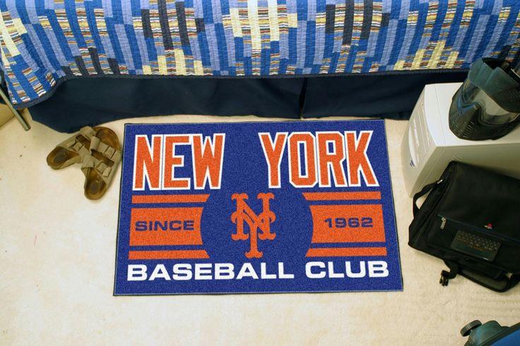 New York Mets Baseball Club Starter Rug 19x30