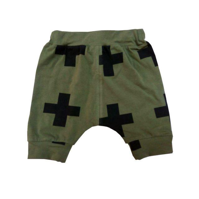 kruis patroon harembroek nununu baby bloeiers jongens kinderen kleding jongens korte broek kinderen nununu unisex kleding bermuda broek