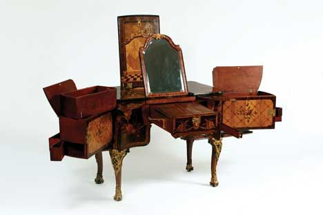 Dressing table, 1769