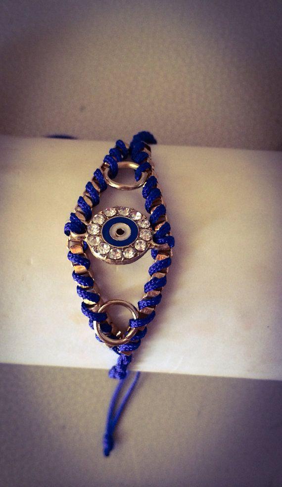 "Handmade Bracelet, Evil Eye, Jewelry, Women, Fashion, Style, ""Evil Eye Vol.1"" on Etsy, 12,00€"