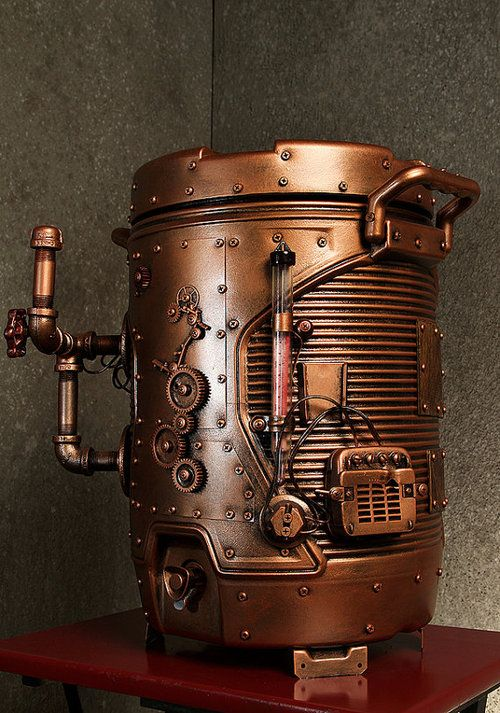 Steampunk Tendencies Steampunk Beverage Dispenser