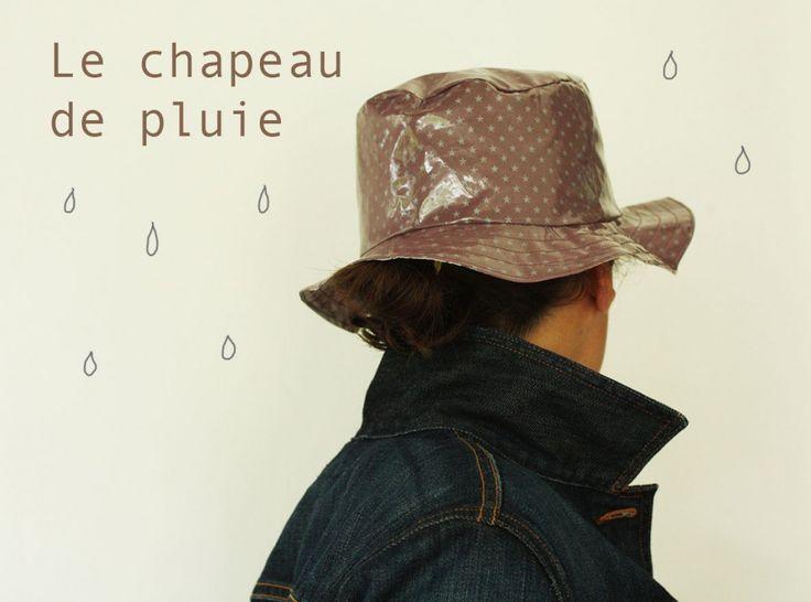 tuto chapeau de pluie en enduits France Duval Stalla