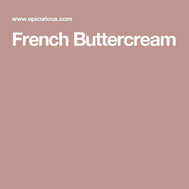 French Buttercream