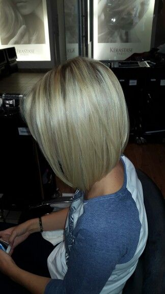 Long, easy to manage bob. Done by Eloise Steyn - Gary Rom Hairdressing Woodlands branch