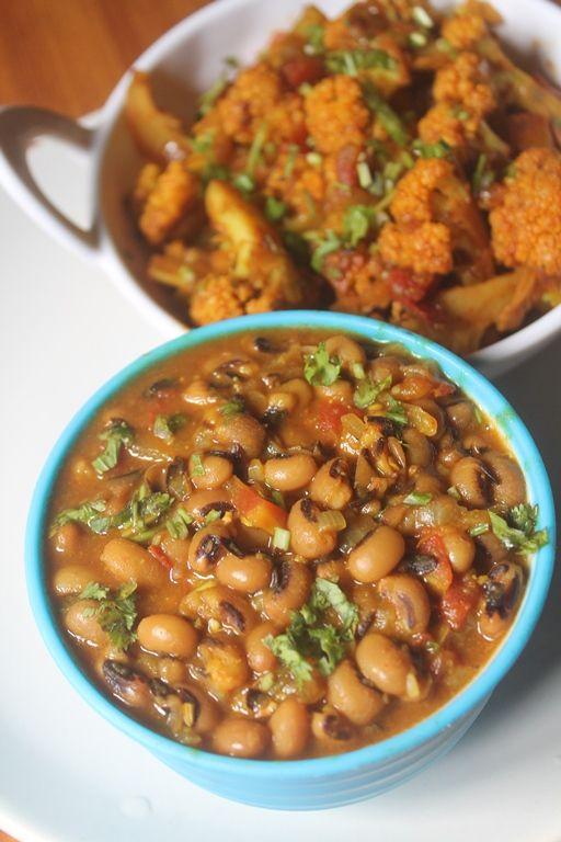 Black Eyed Peas Curry Recipe - Lobia Curry Recipe