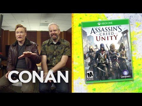 Clueless Gamer: Conan O'Brien testet Assassin's Creed Unity