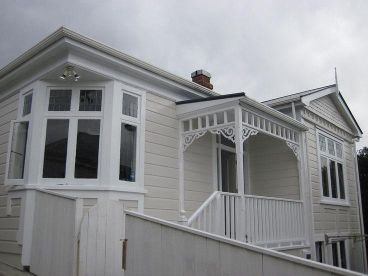 Colonial Cottage Karori Design by Jane Hyder. Heritage Rental property owner Hyder family.