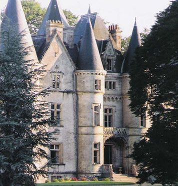 Château de Trédion - Morbihan, Bretagne - close up view