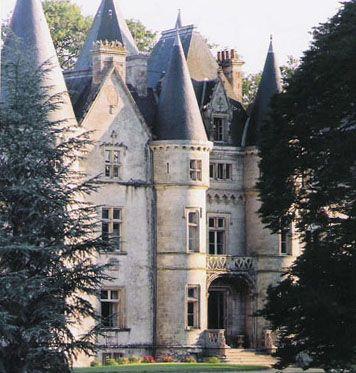 Château de Trédion - Morbihan, Bretagne - close up view