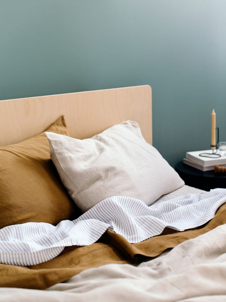 Plyroom — The Design Files | Australia's most popular design blog. -★- bed clothes colors