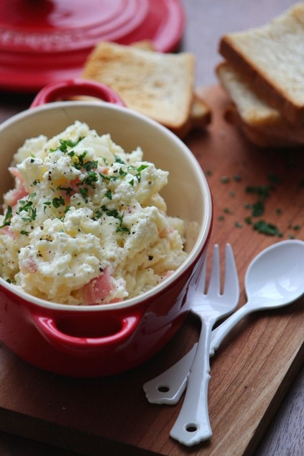 自家製フレッシュチーズのクリーミィーポテトサラダ。 by 栁川かおり ...