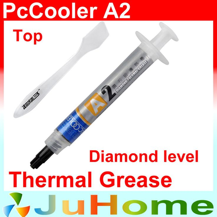 Diamond Level thermal paste silicone grease, Processor cooling thermal paste overclocking dedicated, PcCooler A2