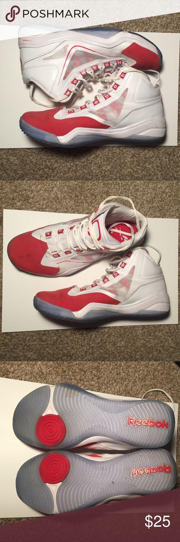 Allen Iverson Reebok shoes size 11.5 men Allen Iverson Reebok basketball shoes size 11.5 men. Excellent condition, worn once Reebok Shoes Athletic Shoes