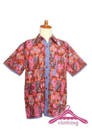 great combination of batik Cirebon and batik Klaten