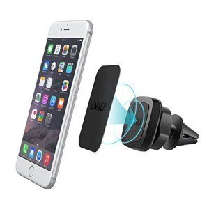 Anker Support magnétique smartphone pour grille d'aération – Support Universel pour iPhone, Samsung, LG, Nexus, HTC, Motorola, Sony, Nokia…
